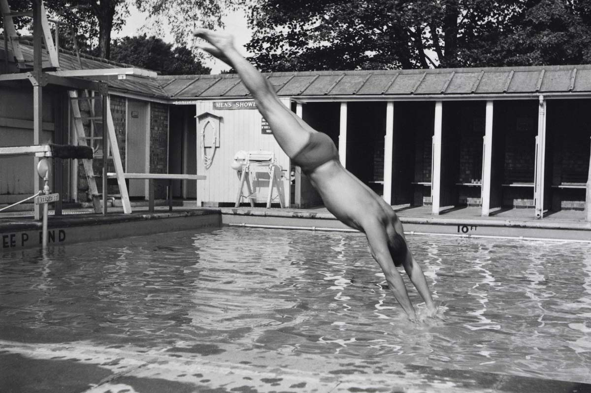 The pool in the 1950s
